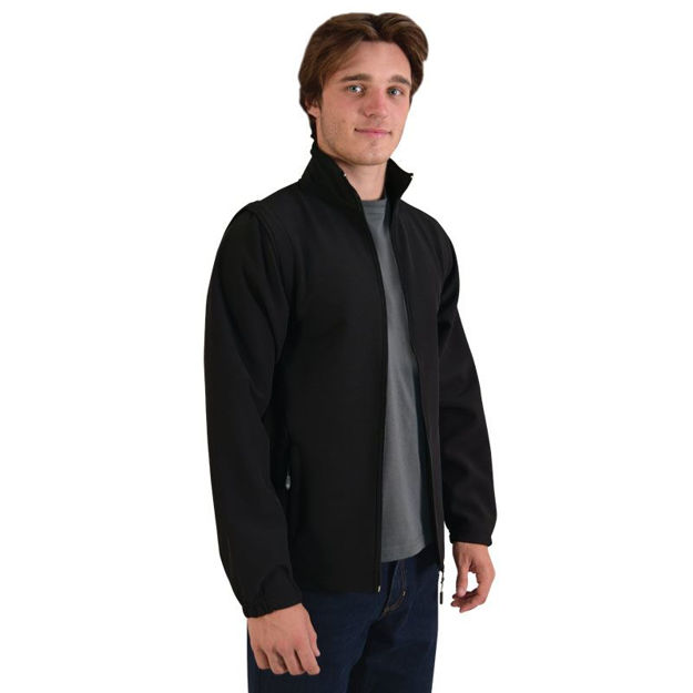 Picture of Zip Off Sleeve Soft Shell Jacket
