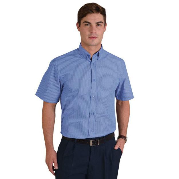 Image sur Chemise à manches courtes Cameron - Rayures 6