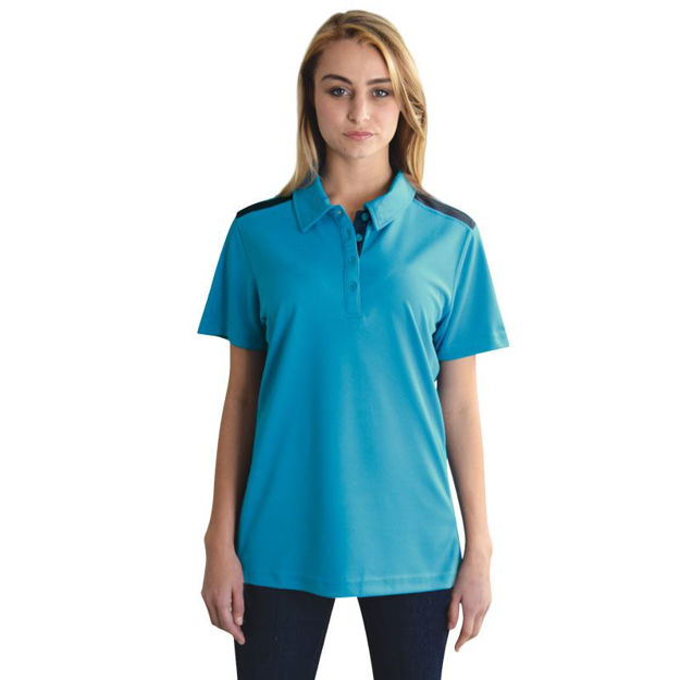 Picture of Ladies Vector Polo