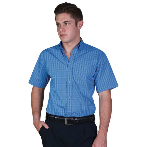 Picture of Cameron Shirt Short Sleeve- Check 3