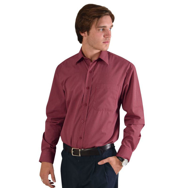 Picture of Matthew Shirt Long Sleeve - Stripe 4