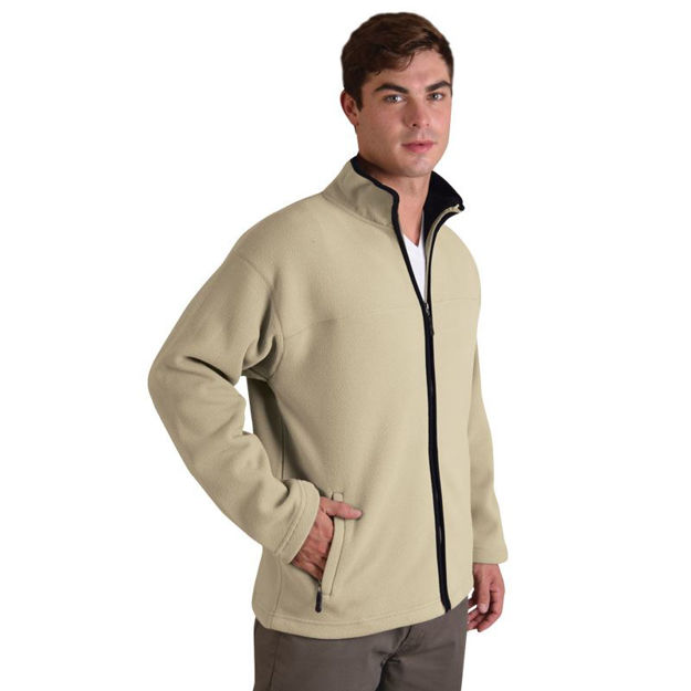 Picture of Mens Double-Sided Microfiber Polar Fleece