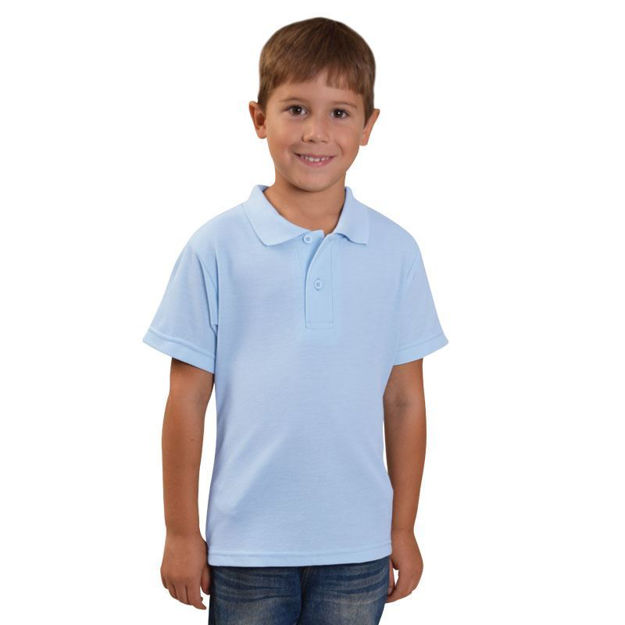 Picture of Youth Classic Pique Knit Polo
