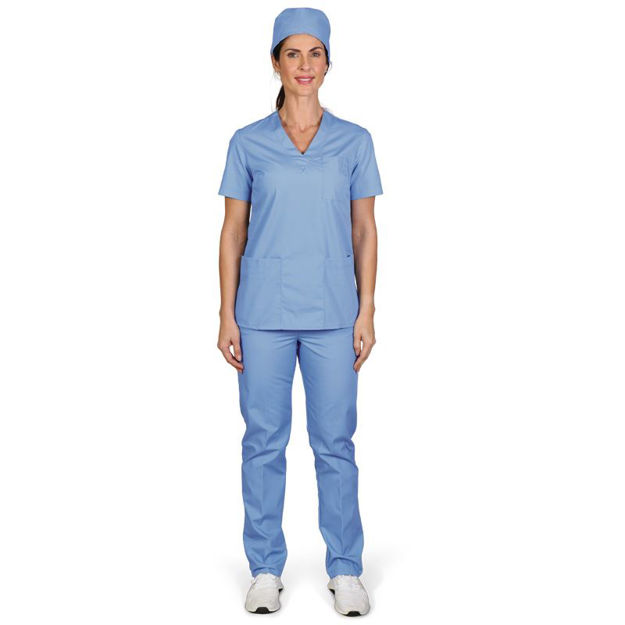 Picture of Terry Ladies Scrub Pants