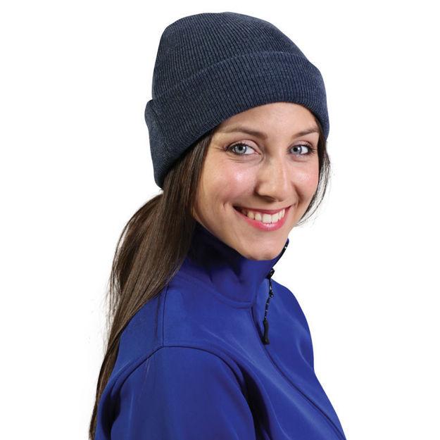 Image sur Toque d' Hiver tricoté
