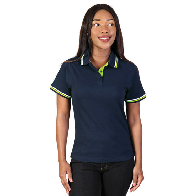 Picture of Ladies Raised Ridge Polo