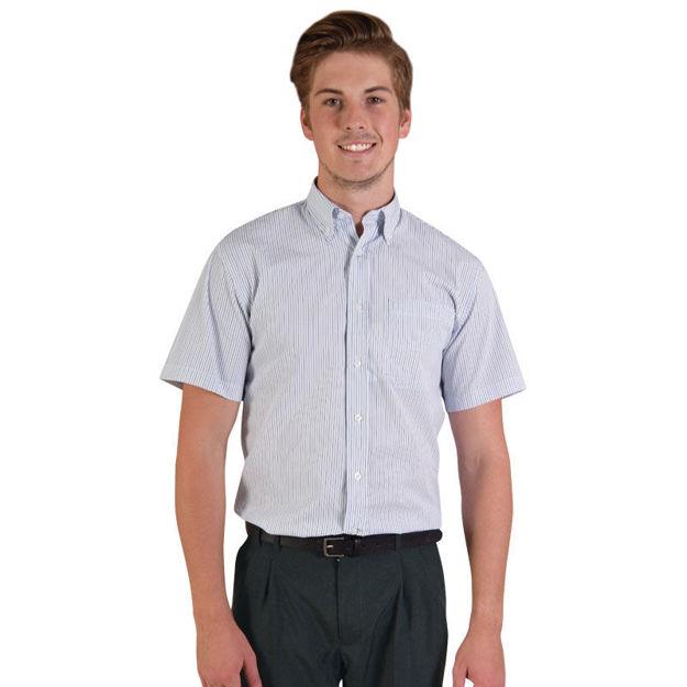 Image sur Chemise à manches courtes Cameron - Carreaux 3